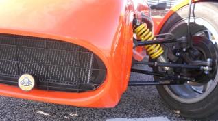 Lotus Super Seven vezetés Hungaroring 4 kör+videó