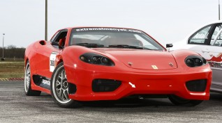 Ferrari 360 Replika vezetés, vagy utasautóztatás KakucsRing 3 kör