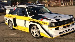 Audi S1 Rally car Proto autóvezetés és utazás KakucsRing 10+2 kör