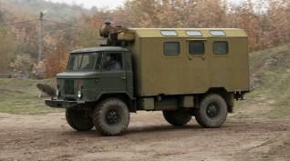 GAZ 66 Katonai Teherautó Vezetés 5 kör