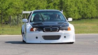 BMW E46 GTR Turbo autóvezetés és utazás KakucsRing 10+2 kör