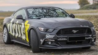 Ford Mustang GT 500 LE autóvezetés DRX Ring 2 kör+videó