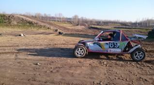 """Buggy """"Szöcske"""" rally autóvezetés 5 kör"""