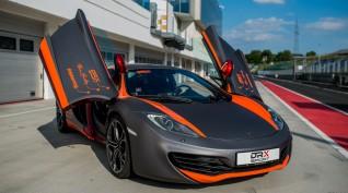 McLaren MP4-12C 625 LE autóvezetés Hungaroring kettő kör+videó