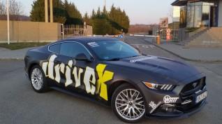Ford Mustang GT 500 LE városi vezetés 1/2 óra
