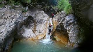 Kanyoning túra Szlovéniában - 1 fő