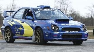 Subaru Impreza WRX Rally autóvezetés Hungaroring 2 kör