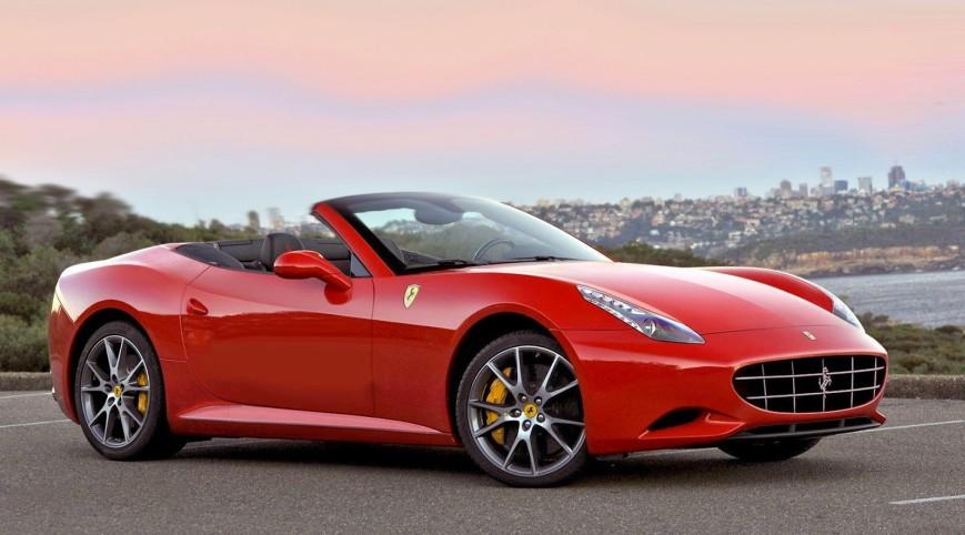 Ferrari California 460 LE vezetés Standard kör 7-8 km