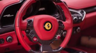 Ferrari 458 Italia 570 LE autóvezetés DRX Ring 8 kör+videó