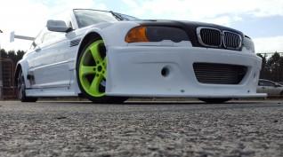 BMW E46 GTR Turbo autóvezetés és utazás KakucsRing 4+2 kör