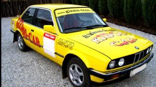 BMW E30 320i Rallyautó Vezetés 15 kör