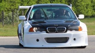 BMW E46 GTR Turbo autóvezetés vagy autóztatás KakucsRing 10 kör