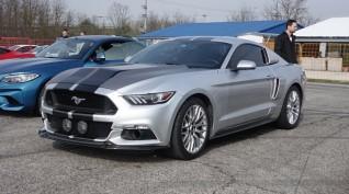 Ford Mustang GT Eleanor autóvezetés KakucsRing 6 kör