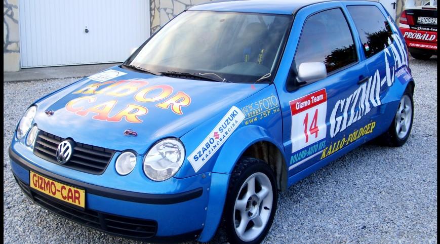 VW Polo Rallyautó Vezetés 15 kör
