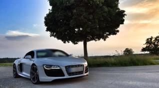 Audi R8 V8 420 LE autóvezetés Hungaroring 3 kör