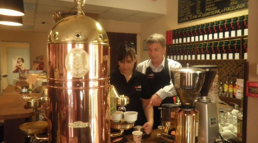 Barista Akadémia Kávé kóstolóval 5 fő részére