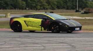 Lamborghini Gallardo autóvezetés Euroring 4+2 kör+Ajándék Videó
