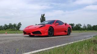 Ferrari F430 Replika autóvezetés KakucsRing 3 kör