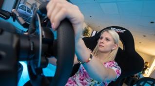 Versenyautó szimulátor vezetés 1 fő 1 óra