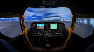 Cessna 172 repülőgép szimulátor 40 perc