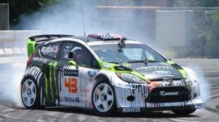 Ford Fiesta RS WRC 450 LE versenyautó vezetés Kakucsring 5 kör