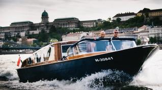 25 perces élményhajózás a Dunán 2 fő részére