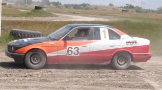 BMW E34 Rally Versenyautó Utasautóztatás 10 kör