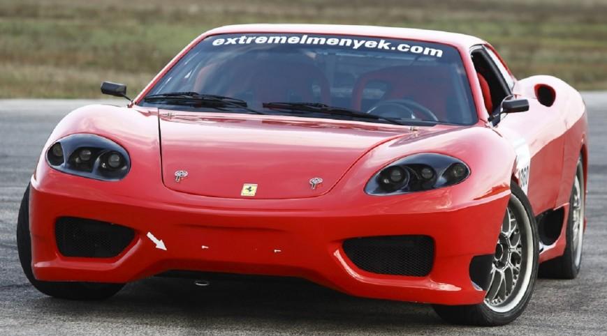 Ferrari 360 Replika Vezetés, vagy utasautóztatás KakucsRing 10 kör