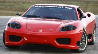 Ferrari 360 Replika autóvezetés KakucsRing 10 kör