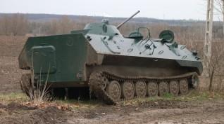 Harckocsi vezetés (40 Perc Gsp-55 + 15 Perc MTLBU)