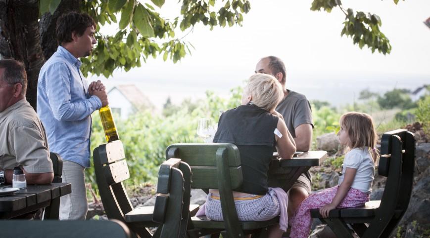 Prémium borkóstoló pároknak a Somló hegyi Barcza Pincészetben
