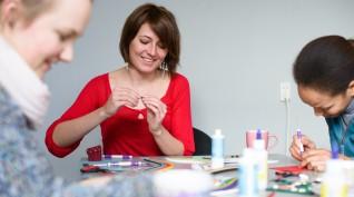 Quilling - Kreatív önismeret nőknek 2-6 fő