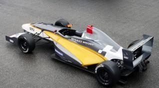 Forma Autó Vezetés Renault Versenyautóval az Euroringen 2 kör