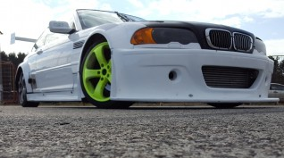 BMW E46 GTR Turbo autóvezetés vagy autóztatás KakucsRing 6 kör