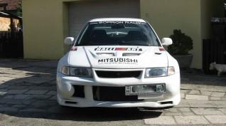 Mitsubishi Lancer EVO VI Vezetés Rallykrossz Pályán 12,5 km