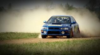Subaru 555 Type RA versenyautó vezetés rallykrossz Pályán 5 km