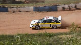 Audi S1 Rally car Proto vezetés Vörös Katlan Aréna 3 kör