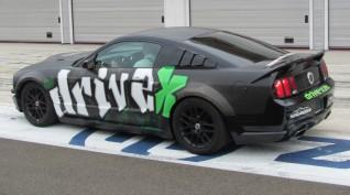 Ford Mustang GT 450 LE autóvezetés Euroring 3 kör+Ajándék Videó